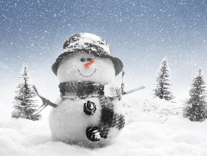 仙女山儿童堆雪人创意大赛正式开启!