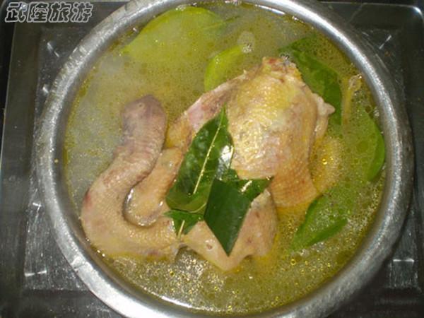 武隆美食-三叶土鸡