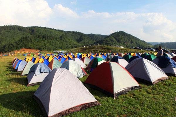 仙女山露营