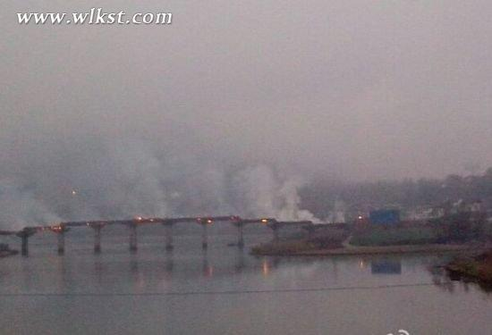 重庆黔江风雨廊桥被烧毁 曾被评为亚洲第一廊桥
