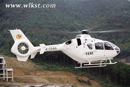 直升飞机观光旅游起飞